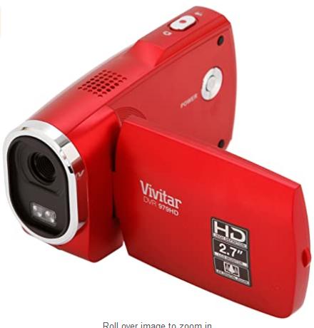 Video cámara vivitar