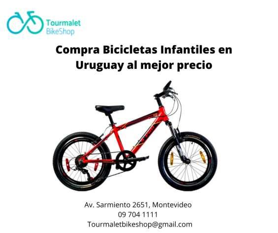 Tourmalet bike shop- compra bicicletas infantiles en uruguay al mejor precio